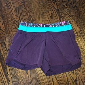 Ivivva size 14 girls relay racer shorts